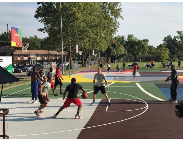 Video : Project Blackboard Revamps Kinloch Park in Style