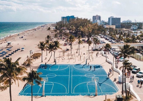Top 10 Basketball Courts on the Beach
