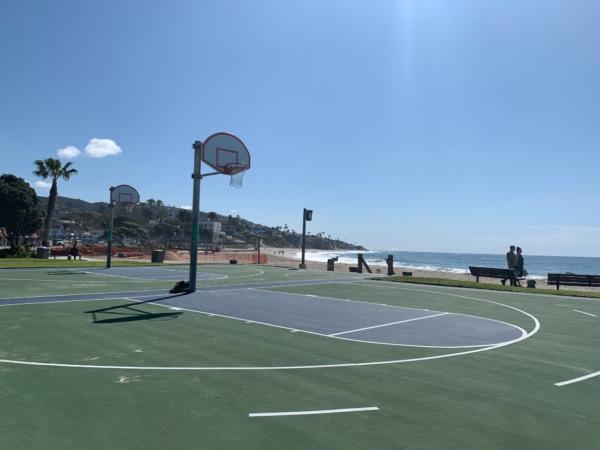 Must Hoop: Laguna Beach Basketball Courts on Main Beach