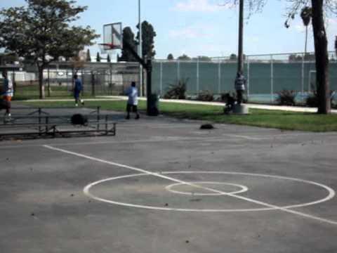 Basketball at Rancho Cienega Park