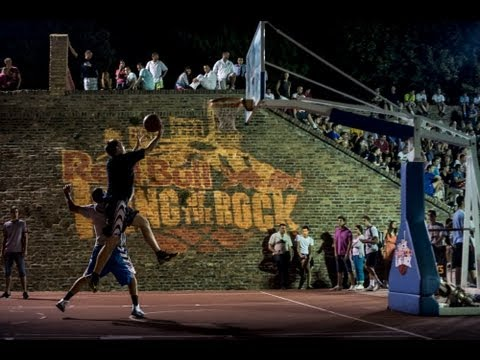 Basketball in Serbia - Red Bull King of The Rock 2013