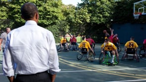 Wounded Warriors at the White House