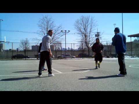 Miller Park in WNY 2vs2 Basketball - 3/9/14 (1 of 4)