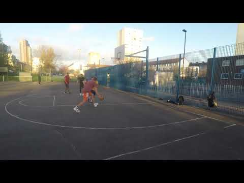 2x2 at Blue Cage Basketball Court