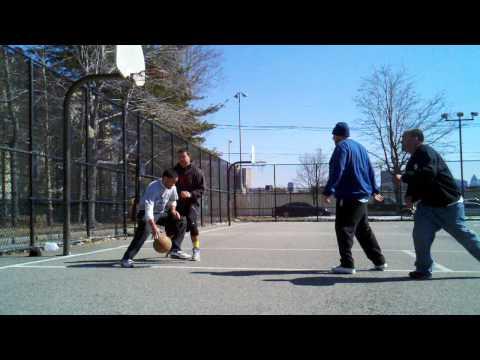 Miller Park in WNY 2vs2 Basketball - 3/9/14 (3 of 4)