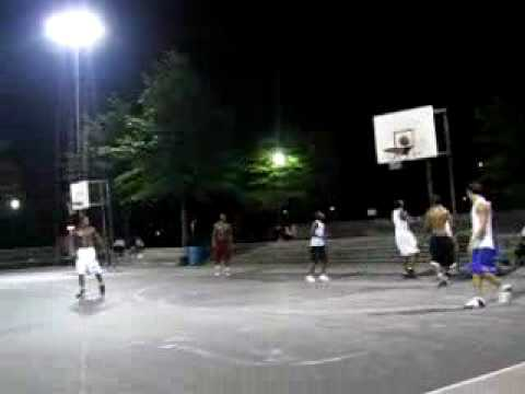 Playin b-ball at lincoln park