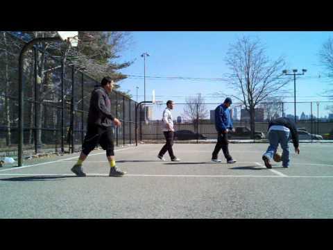 Miller Park in WNY 2vs2 Basketball - 3/9/14 (2 of 4)