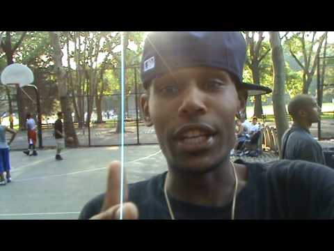 DJ ACE NYC @ basketball courts Central Park