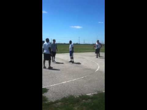 2-on-2 BBall at Rotary Park