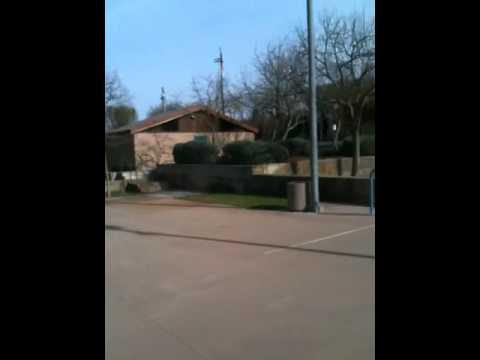 Cool basketball court