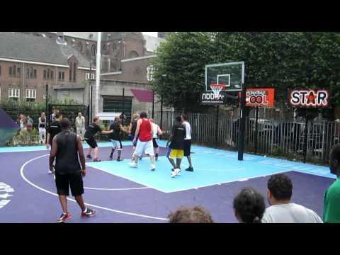 Elite Basketball Playground Competition