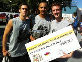 MSF King of the Court 2013 - Prahran Champions!
