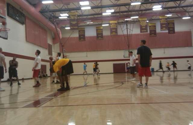 Indoor Basketball Court. Tempe, AZ Basketball Court:
