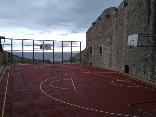 Court - from North side
