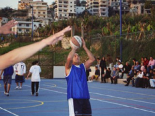 The AUT inter-students Street-Ball competition