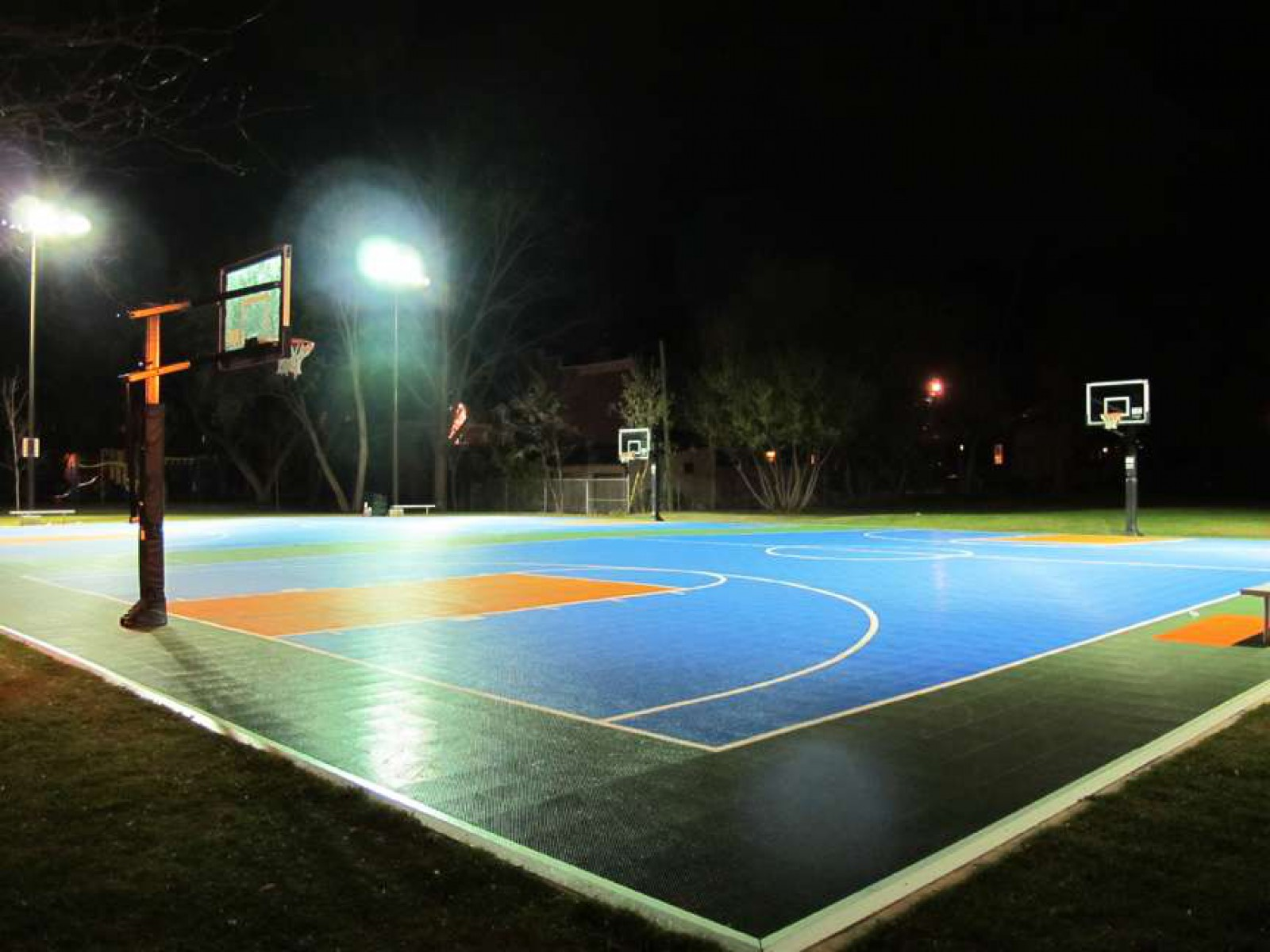 Simcoe/Bethune Basketball Courts, Peterborough, Canada