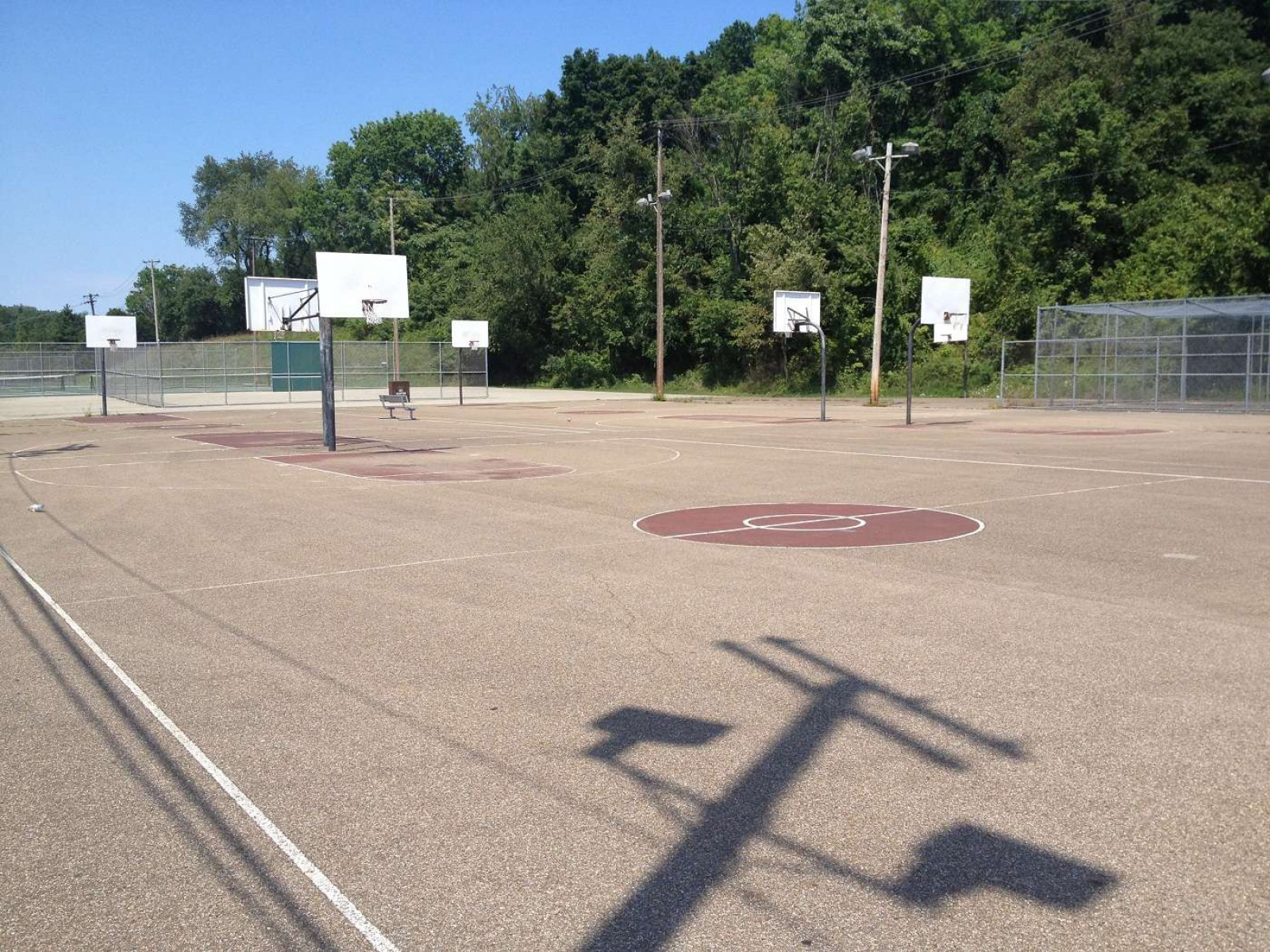 South Park Basketball Courts, South Park Township, PA, United States