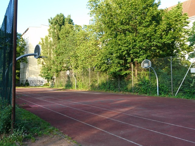 2 small courts - from West side