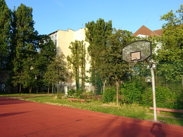 Basket of big court - South East side