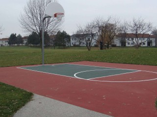 Profile of the basketball court Summit Park, Schaumburg, IL, United States