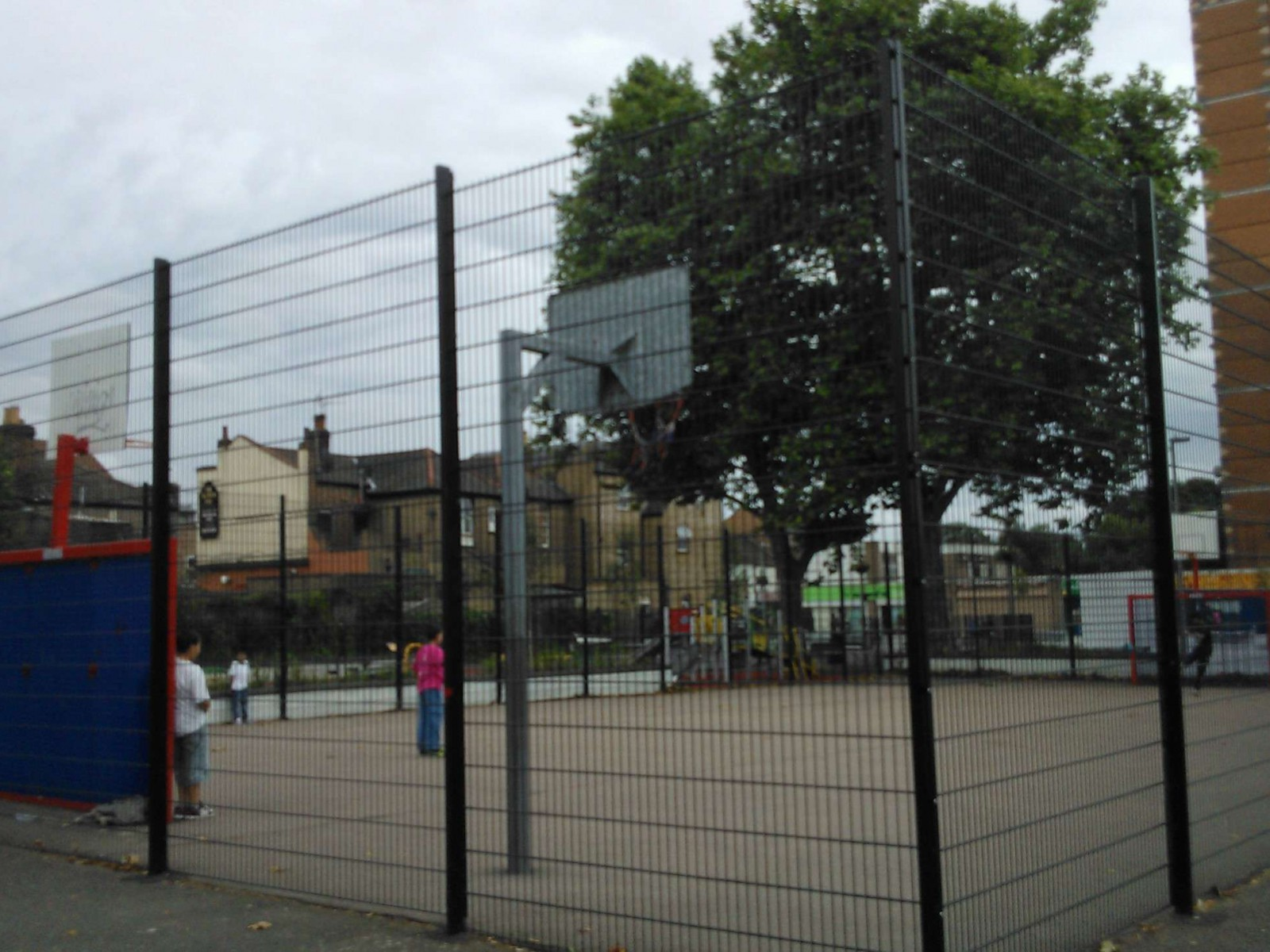 Wood Street Precinct Ball Court, London, United Kingdom