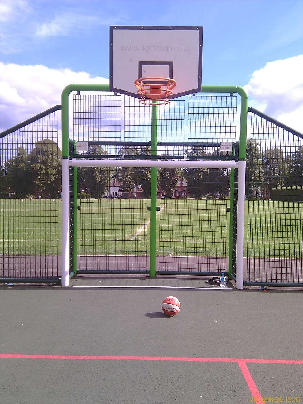 Watford basketball court callowland recreation ground for Cheapest way to make a basketball court