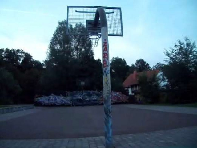 Profile of the basketball court Jugendclub, Bad Salzungen, Germany