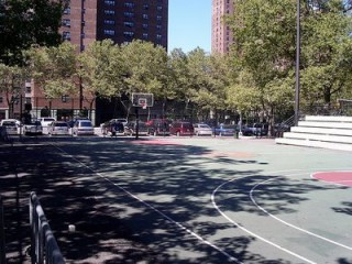 Rucker Park in Harlem, NYC.