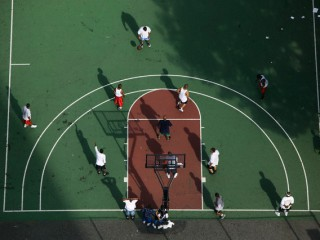 Nice photo of famous Rucker Park