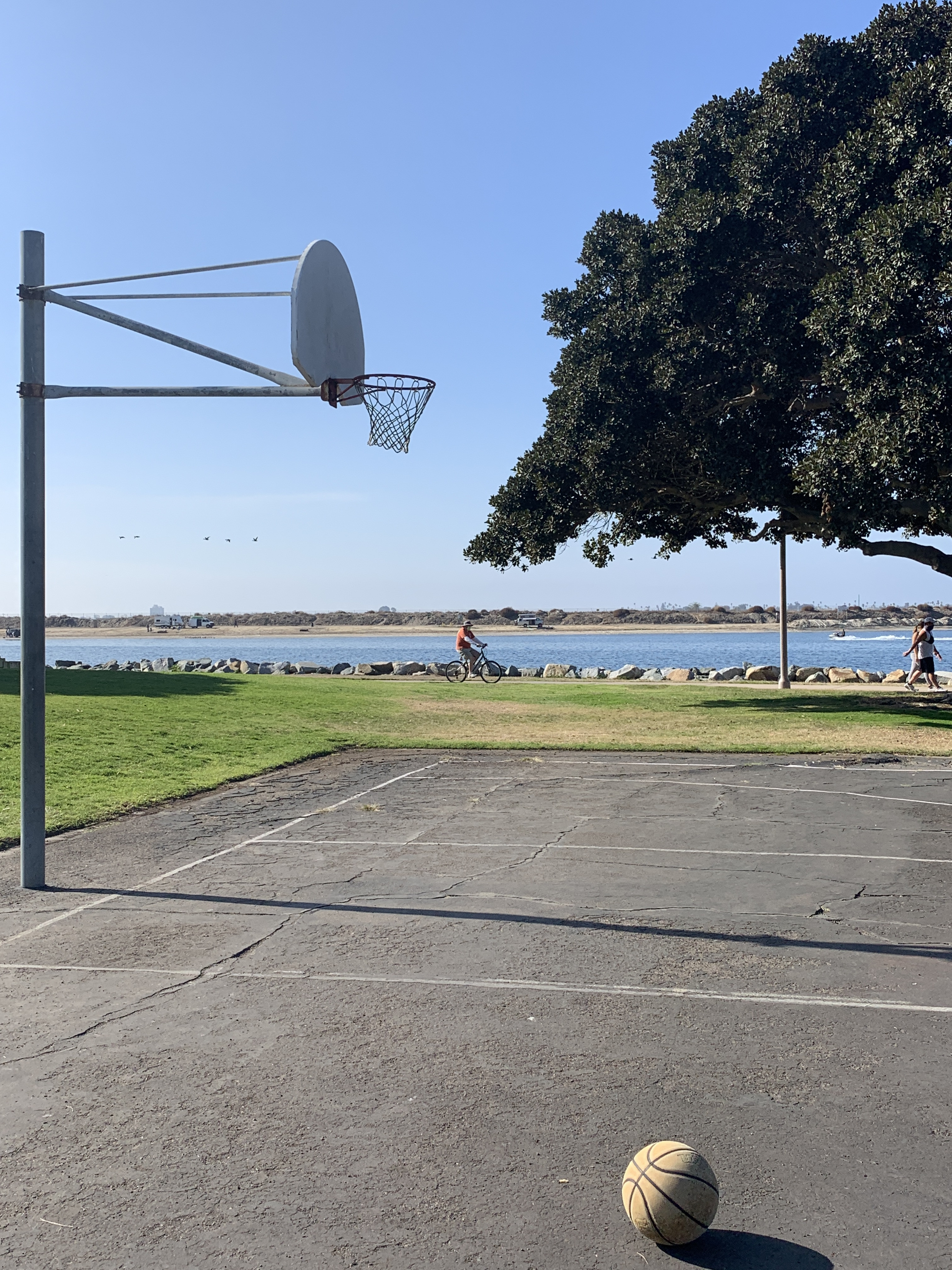 San Diego Ca Basketball Court Mission Bay Park Courts Of The World