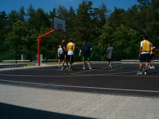 An all-day streetball tournament at Majak Center.