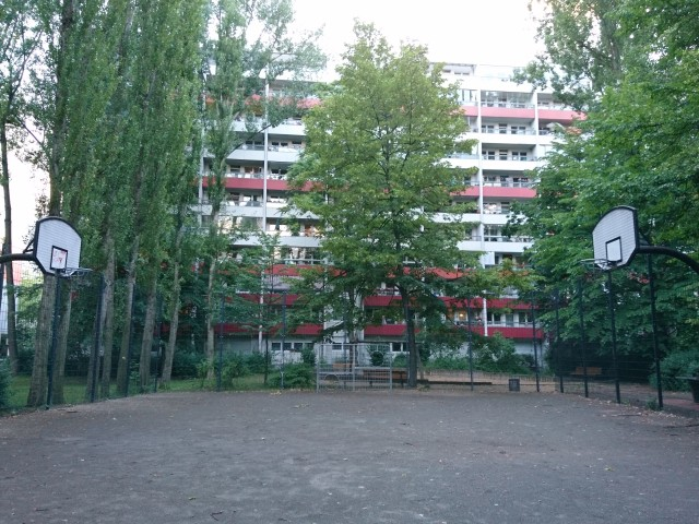 Court - from East side