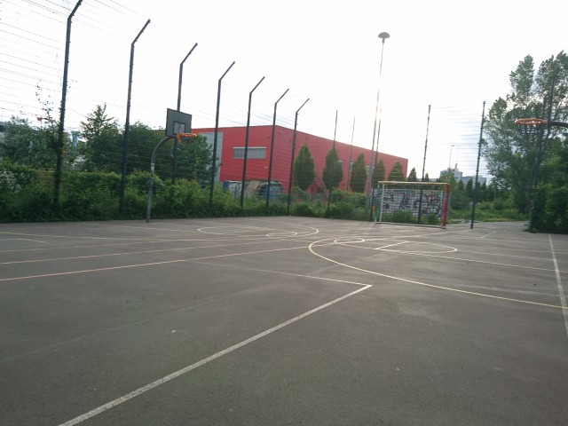 Court - from North East side