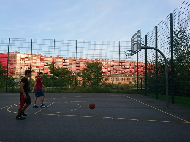 Basket - South side