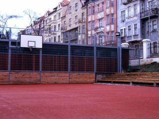 Basketball Court in Havlickovy Park