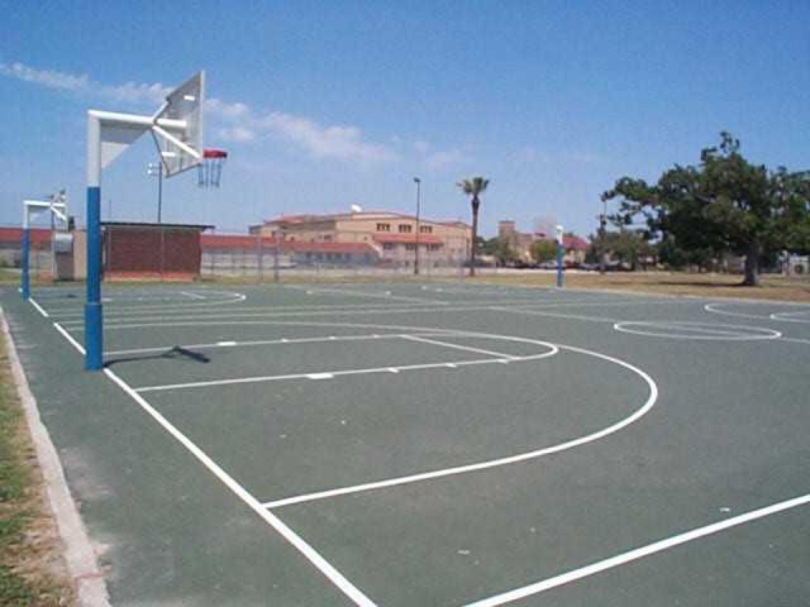 San Antonio Tx Basketball Court Pittman Sullivan Park Courts Of The World