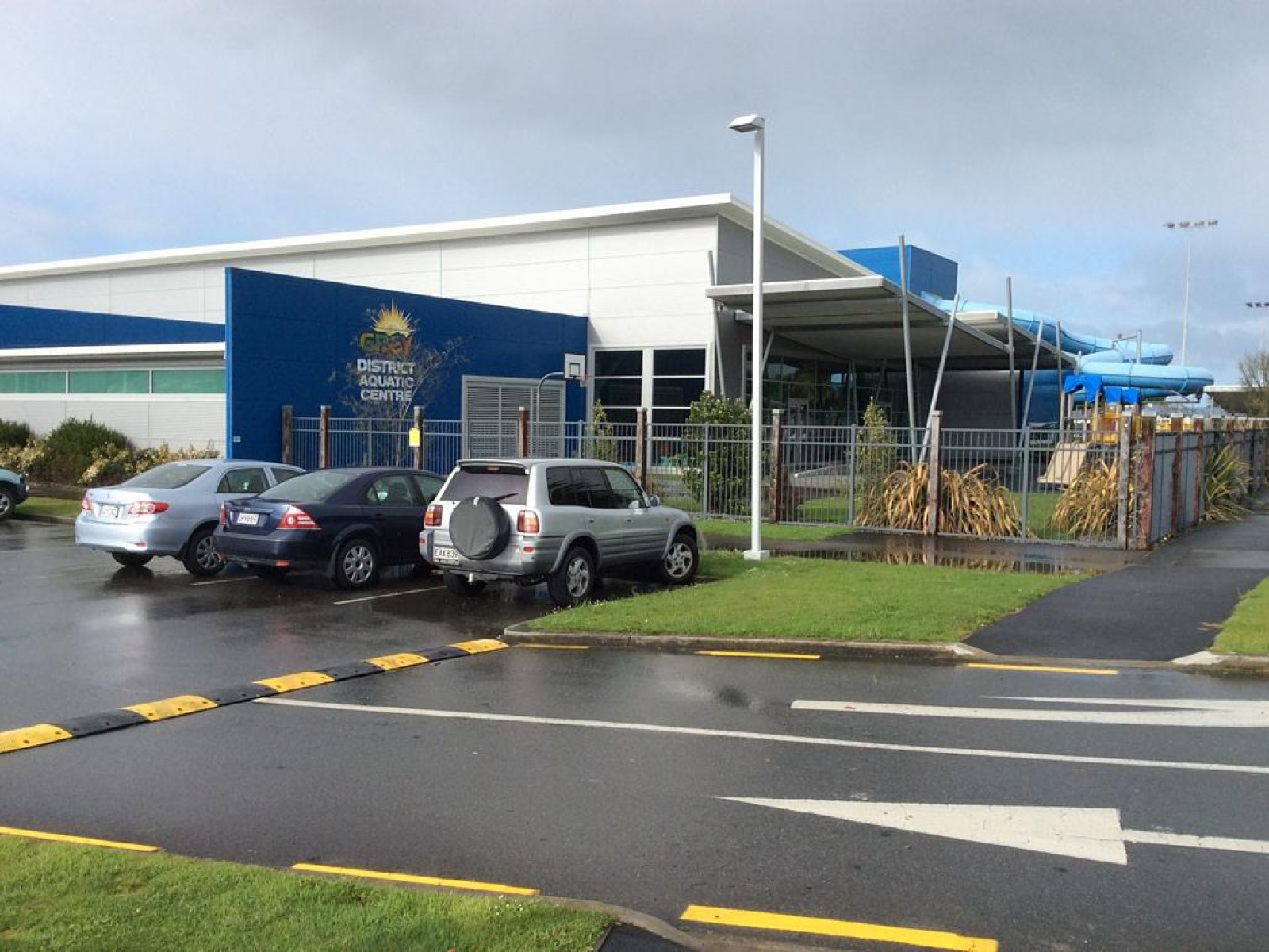 Grey District Aquatic Centre, Greymouth, New Zealand