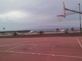 Basketball Court in Alcalá, Tenerife, Spain