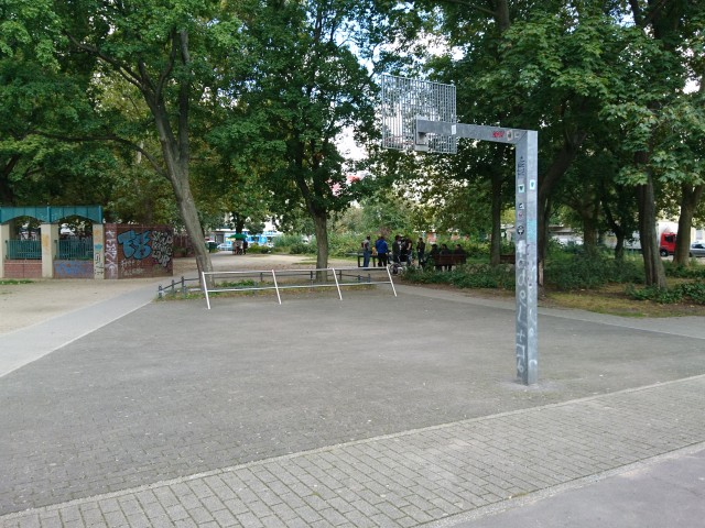 Court - from South side