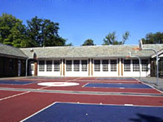 The courts at North Meadow Recreation Center.