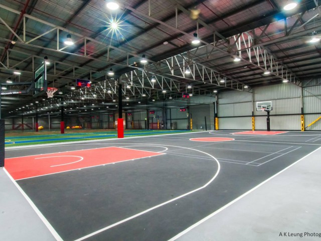 Brisbane City Indoor Streetball Courts 3 x 3 & 5 x 5