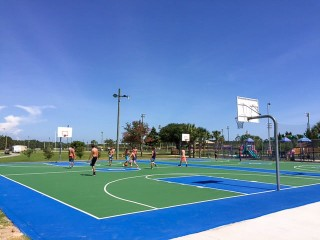 Frank Brown Park Basketball Court