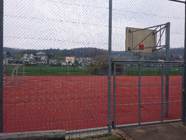 Profile of the basketball court Sekundarschule Embrach, Embrach, Switzerland