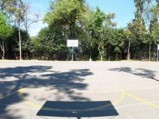 Another panaroma of the basketball grounds in Mexico City.