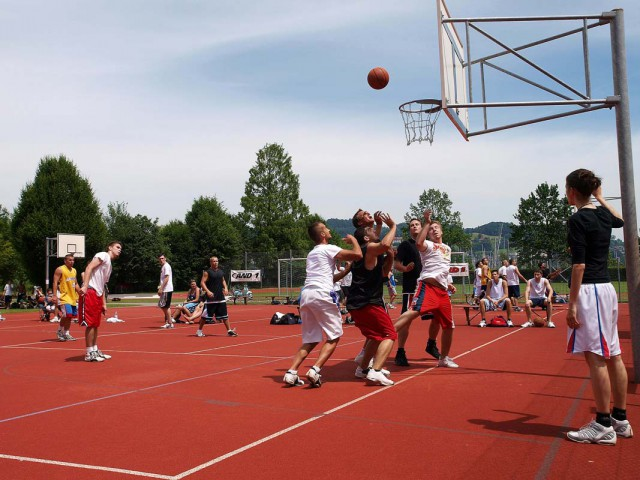 Picture of the AND1 Streetball Tournament 2009