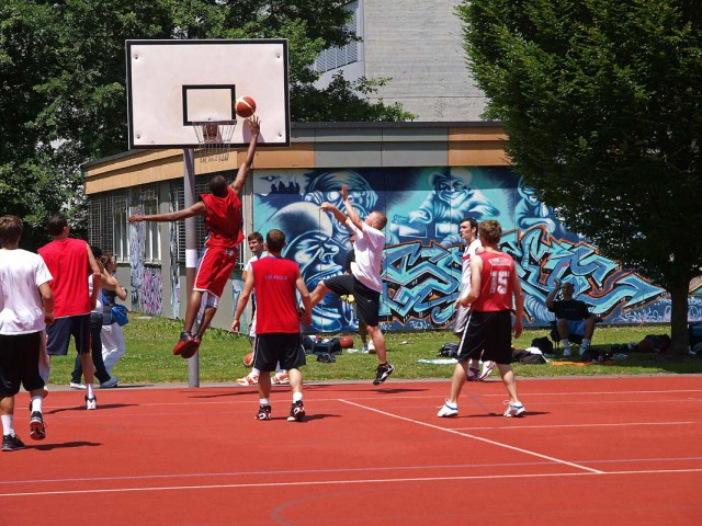 Onther shot of the AND1 Tournament in 2009.