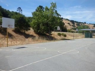 Basketball Courts at Pleasant Valley