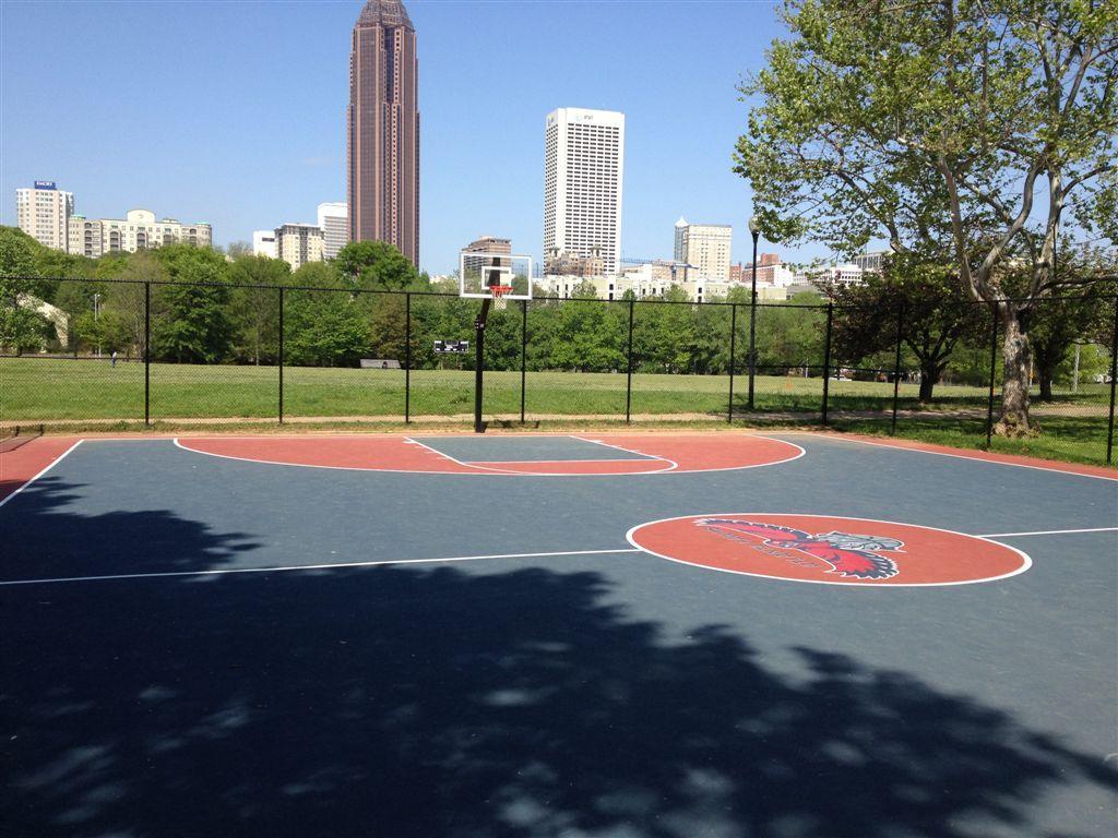 Atlanta, GA Basketball Court: Central Park - Courts of the ...