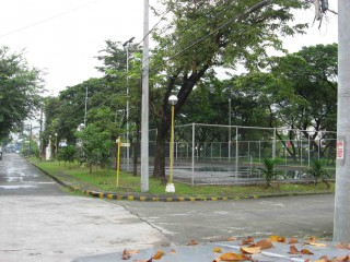 The Basketball Court in Area 3.
