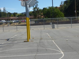 Basketball Courts at Hill